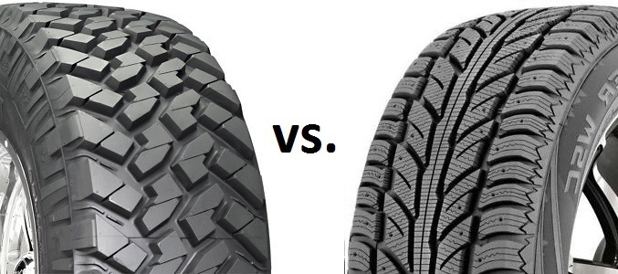 choosing winter tire vs snow tire